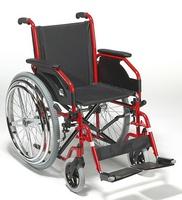 Кресло-коляска механическая с приводом от обода колеса(для людей с одной действующей рукой) 708D НЕМ2