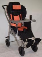 Кресло-коляска инвалидная для детей с ДЦП комнатная КАМ-3М со столиком