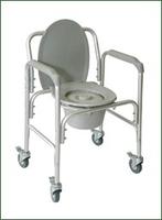 Кресло-туалет на колесах Amrus АМСВ6809