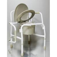 Кресло-туалет с опускающимися подлокотниками AMCF97