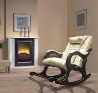 Массажное кресло-качалка EGO WAVE EG-2001 ELITE цвет Шампань, натуральная кожа