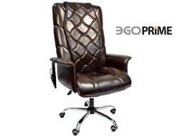 Офисное массажное кресло EGO PRIME EG-1003 LUX комплектации Шоколад