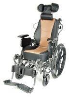 Кресло-коляска механическая стальная FS204BJG (ММ)