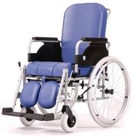 Активная кресло-коляска санитарным оснащением модель Vermeiren 9300