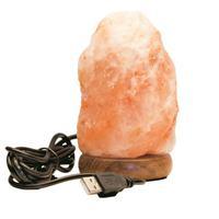 Солевая лампа-USB СКАЛА 0,5 кг