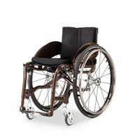 Кресло-коляска механическая активная MEYRA 1.360 ZX1 (MEDIUM) ширина сиденья 40 см, цвет рамы-серебро