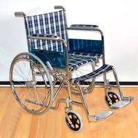 Кресло-коляска Оптим FS874 с ручным приводом, складывающаяся
