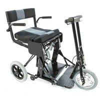 Кресло-коляска инвалидная с электроприводом Оптим FS 128-44