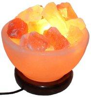 Солевая лампа ВАЗА С КАМНЯМИ 1-2 кг