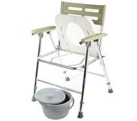 Кресло-туалет WC XXL, с регулировкой высоты, складное