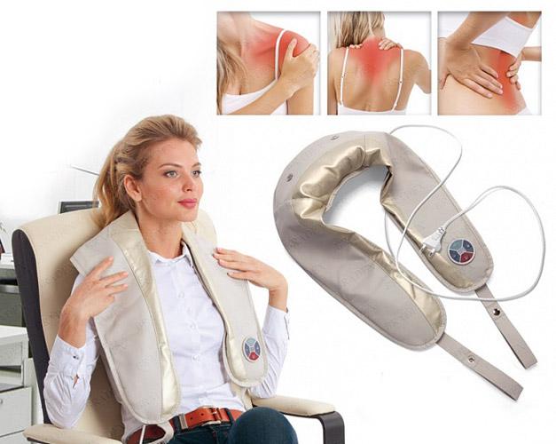 Массажёры для спины и шеи в домашних условиях